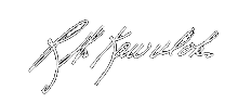 Signature of Rodney Kawulok, owner of RWK Electric Co., Inc.