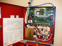 Special systems: Fire alarm installation